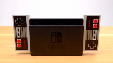 wireless NES-switch