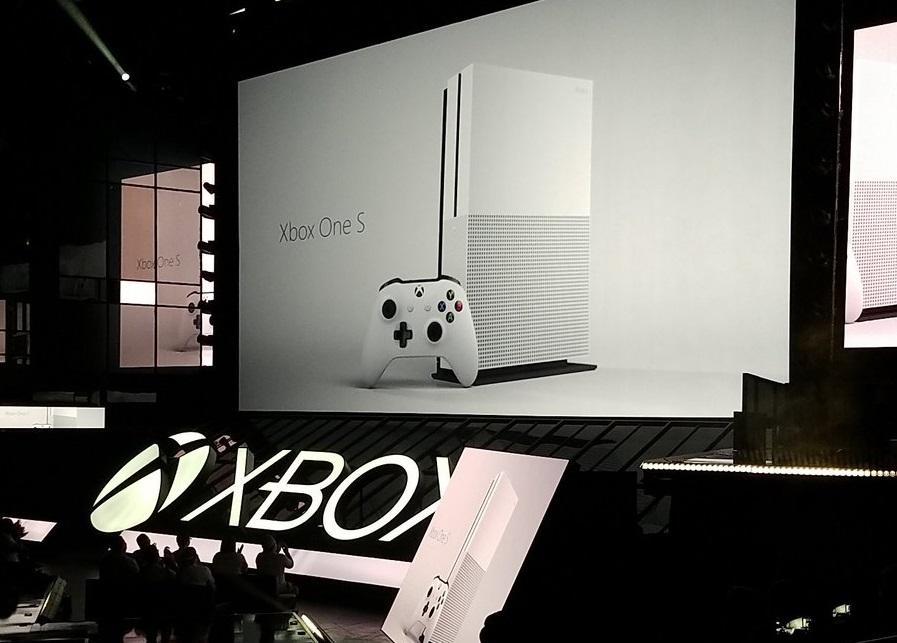 xbox one s- E3 2016