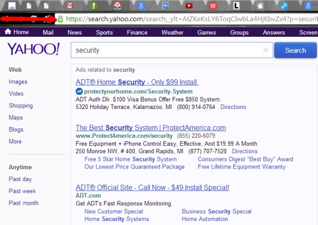 yahoo-secure-searches