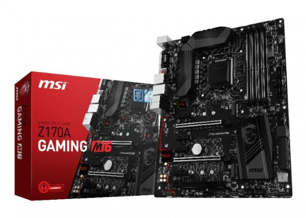 z170a gaming m6 motherboard